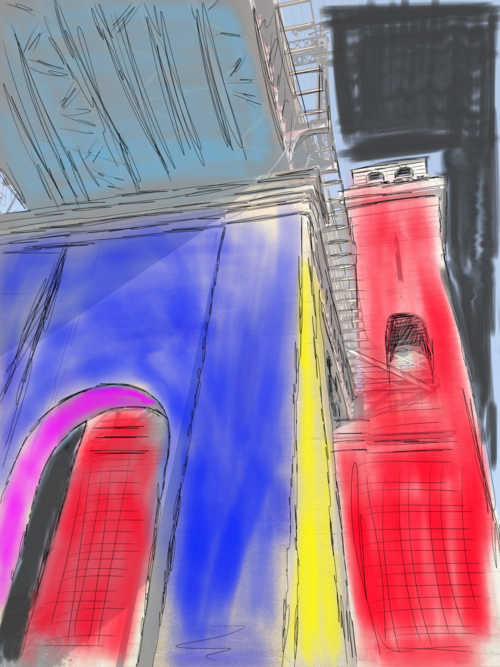 Concept Sketch For A New Photo Project Right Here In Astoria