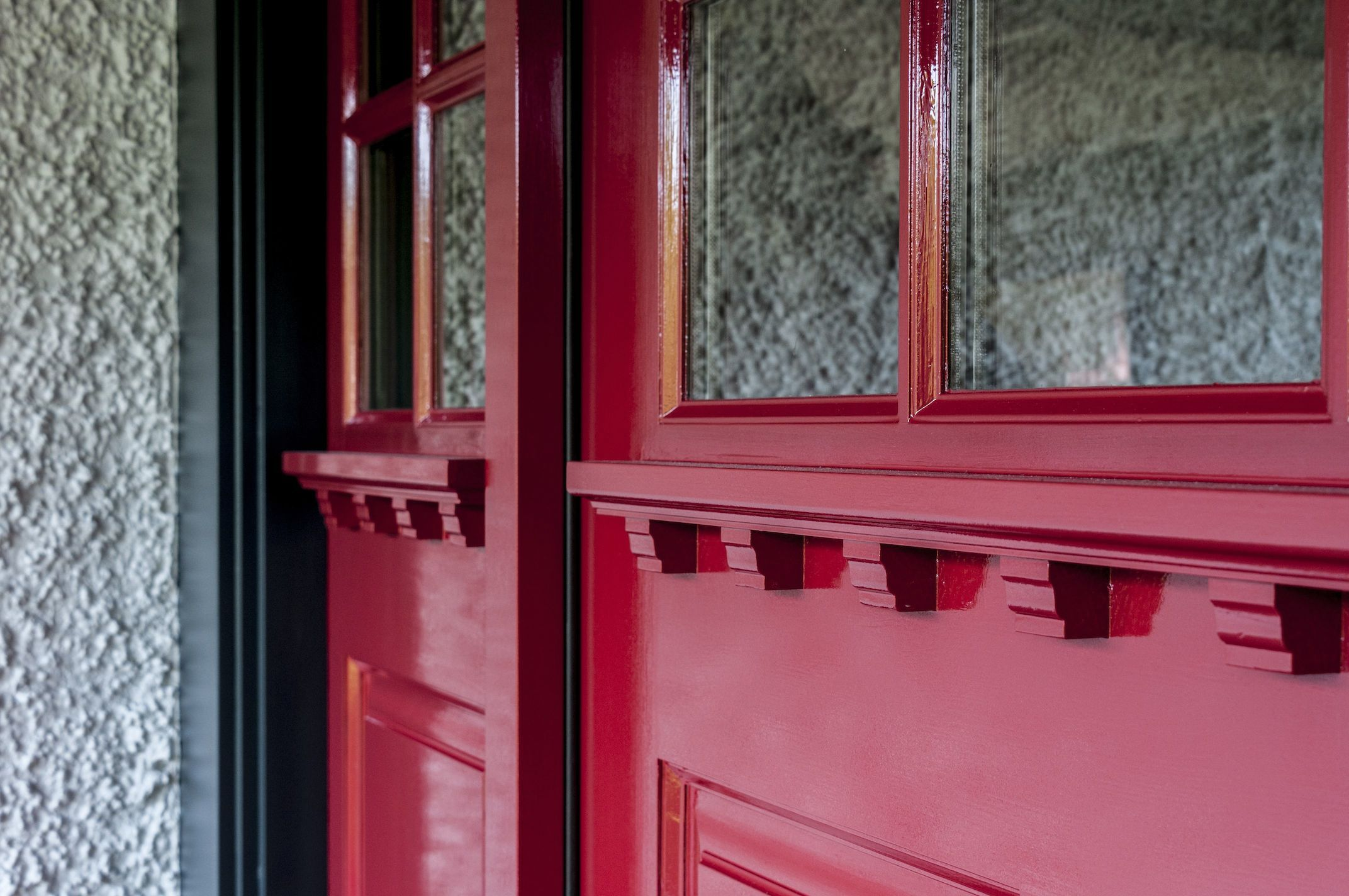 Red Front Door in Farrow & Ball Incarnadine 248. Colour consultation ...