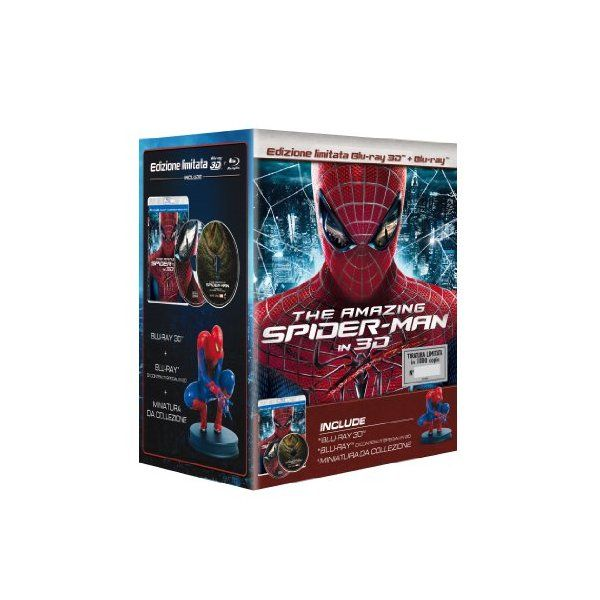 SeguiPrezzi.it - The Amazing Spider-Man - 3D Limited Edition - Esclusiva Amazon.it - Prezzo: EUR 26.91 (10% di sconto)