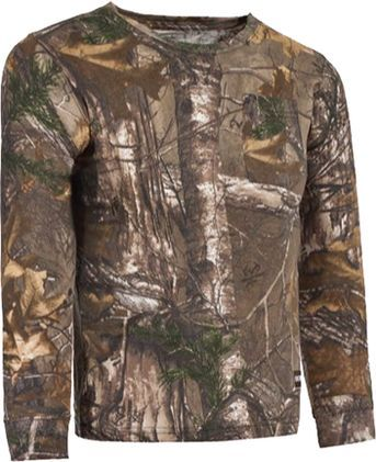 BERNE WORKWEAR Berne Youth Long Gun L/S T-Shirt Lg Realtree Xtra Camo, EA