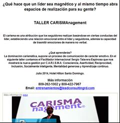 Taller CARISMAnagement