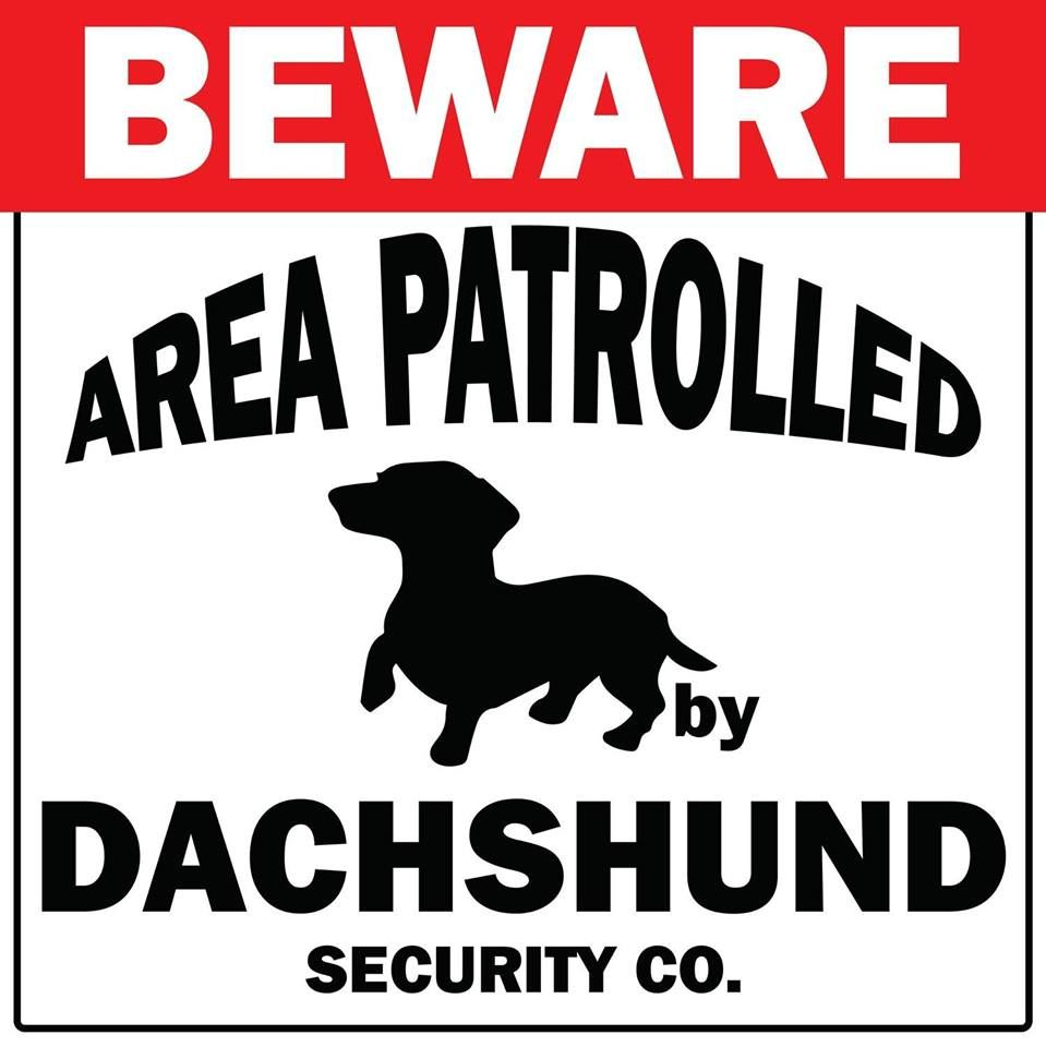 Gate Signs Available From Renaissance Kzn Midlands Dachshund