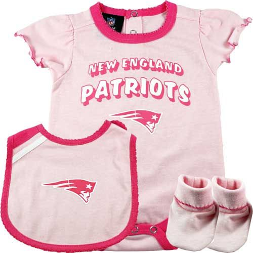 New England Patriots Baby Girl 3 PC Outfit...one of the first things my baby  girl will ever wear. 5bc401227