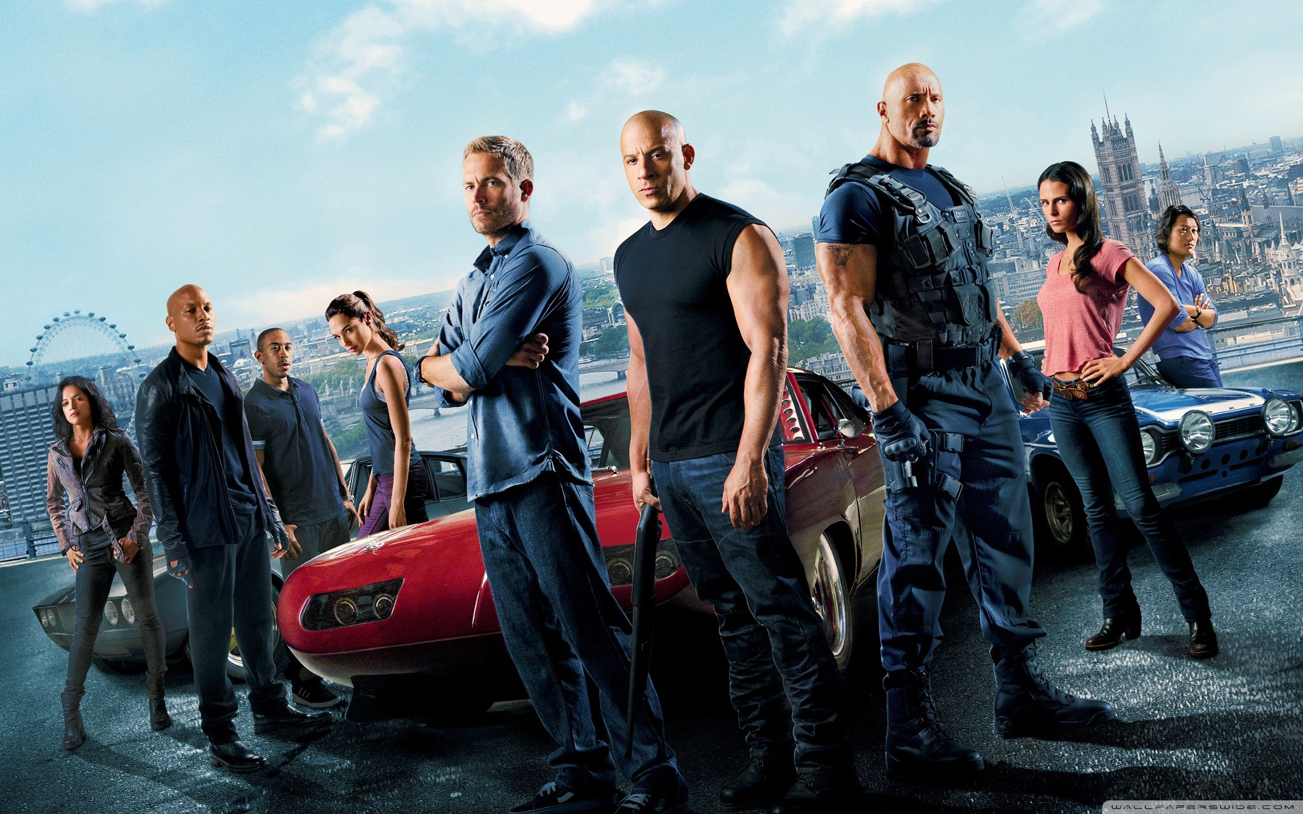 Fast and Furious 6 Movie 2013 HD Wallpaper Widescreen