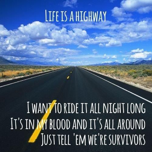 Life Is A Highway Rascal Flatts Music 3 Music Lyrics Lyrics