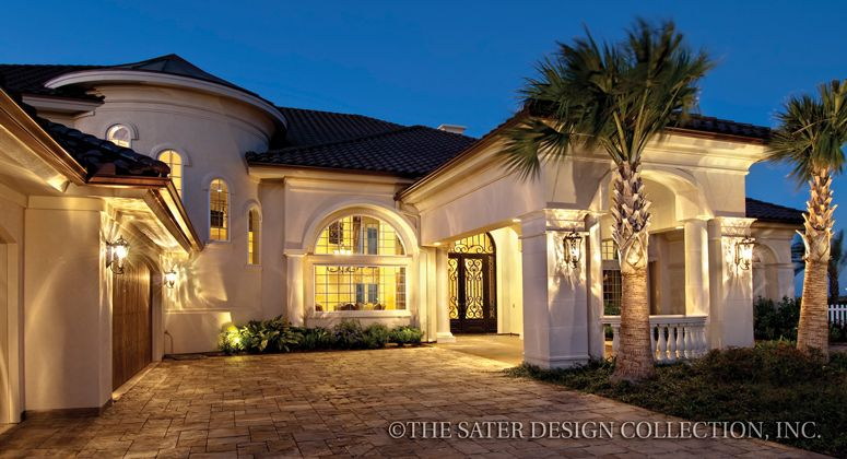 Padova House Plan Luxury House Plans House Plans And