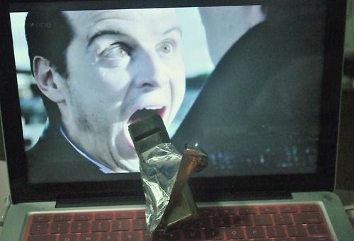 Even Moriarty needs chocolate to get through Reichenbach.