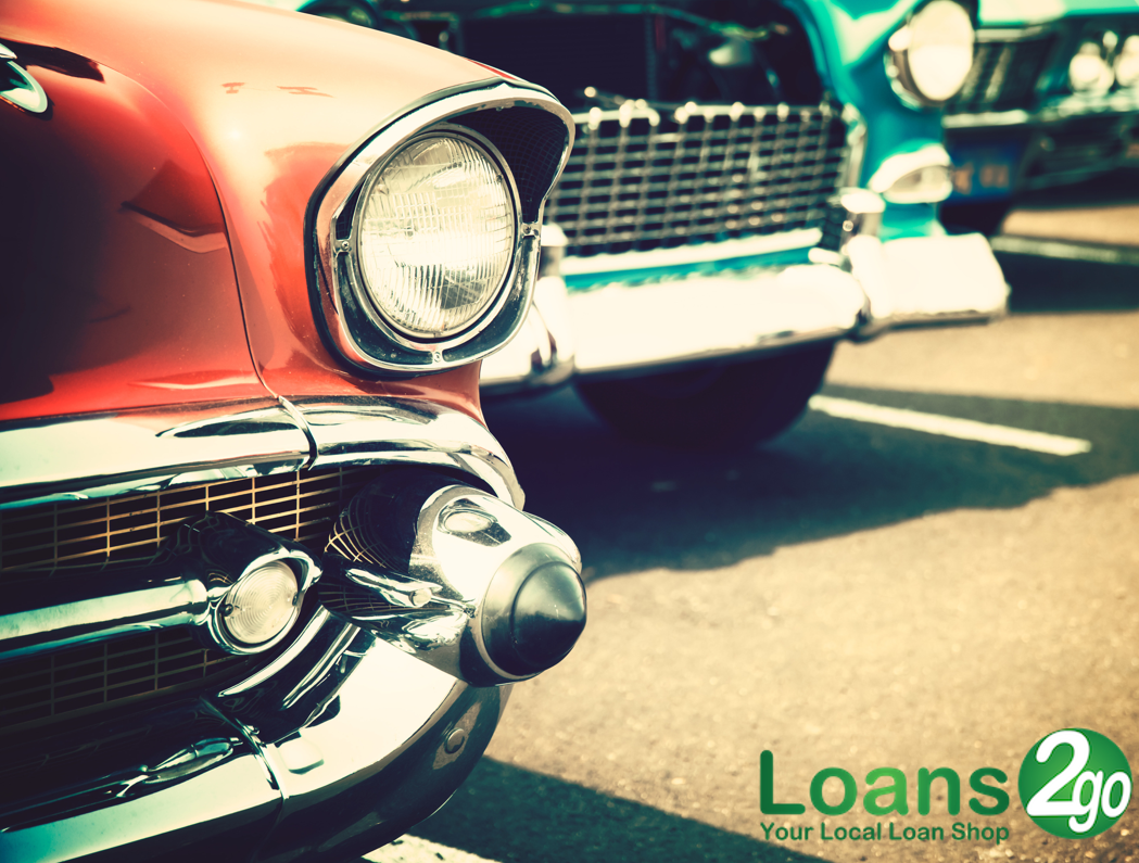 Vintage car collectors! See how you could borrow up to £50,000 with ...