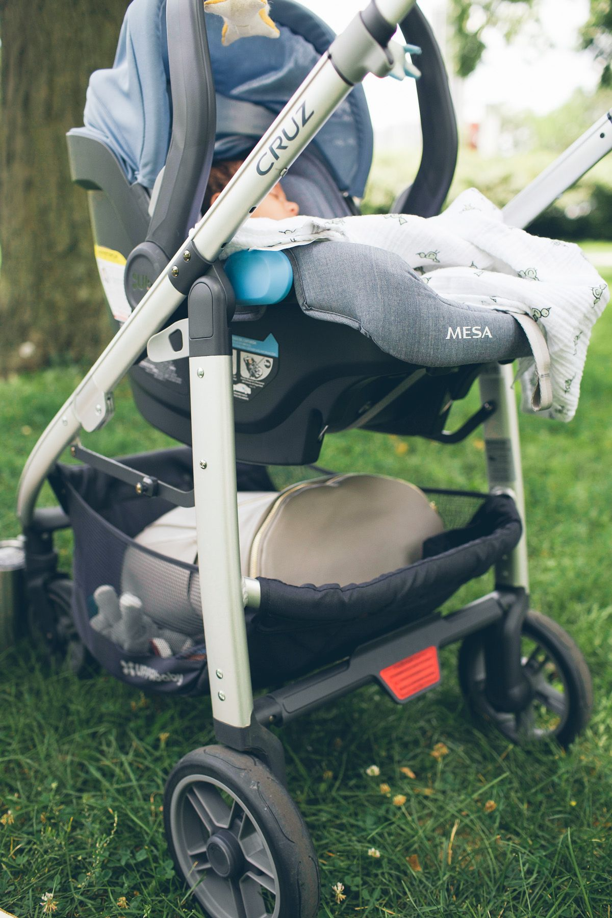 How We Get Around The City With A Baby Uppababy cruz