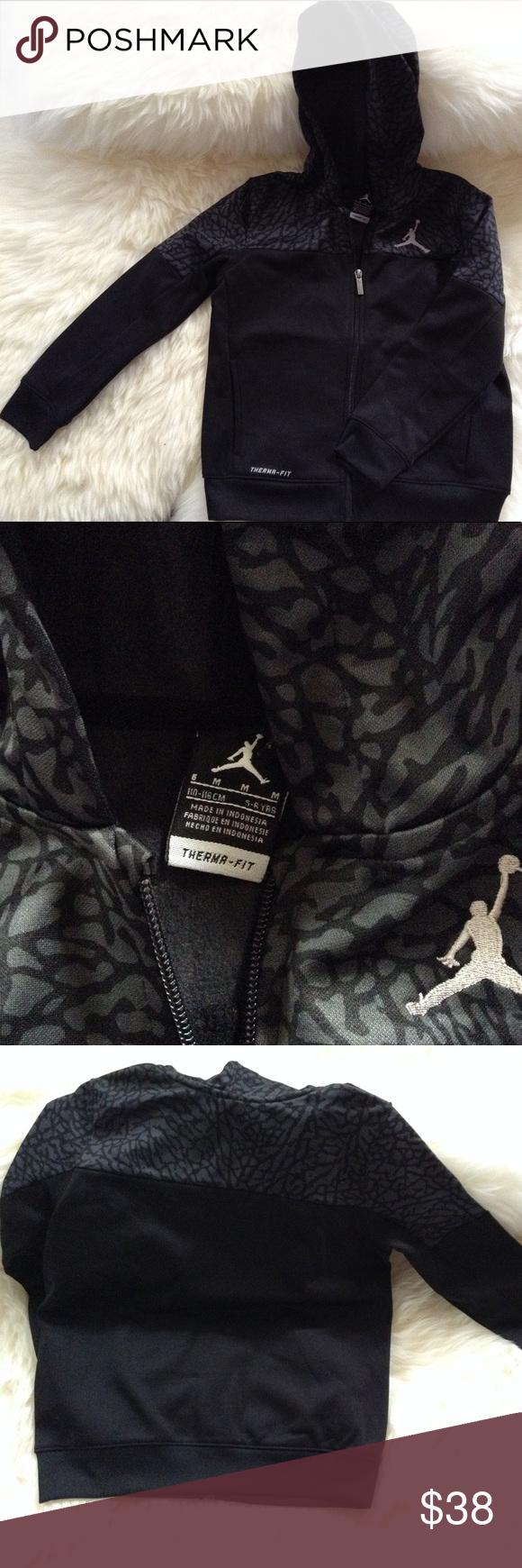 Host pick jordan jacket for boys size nwot