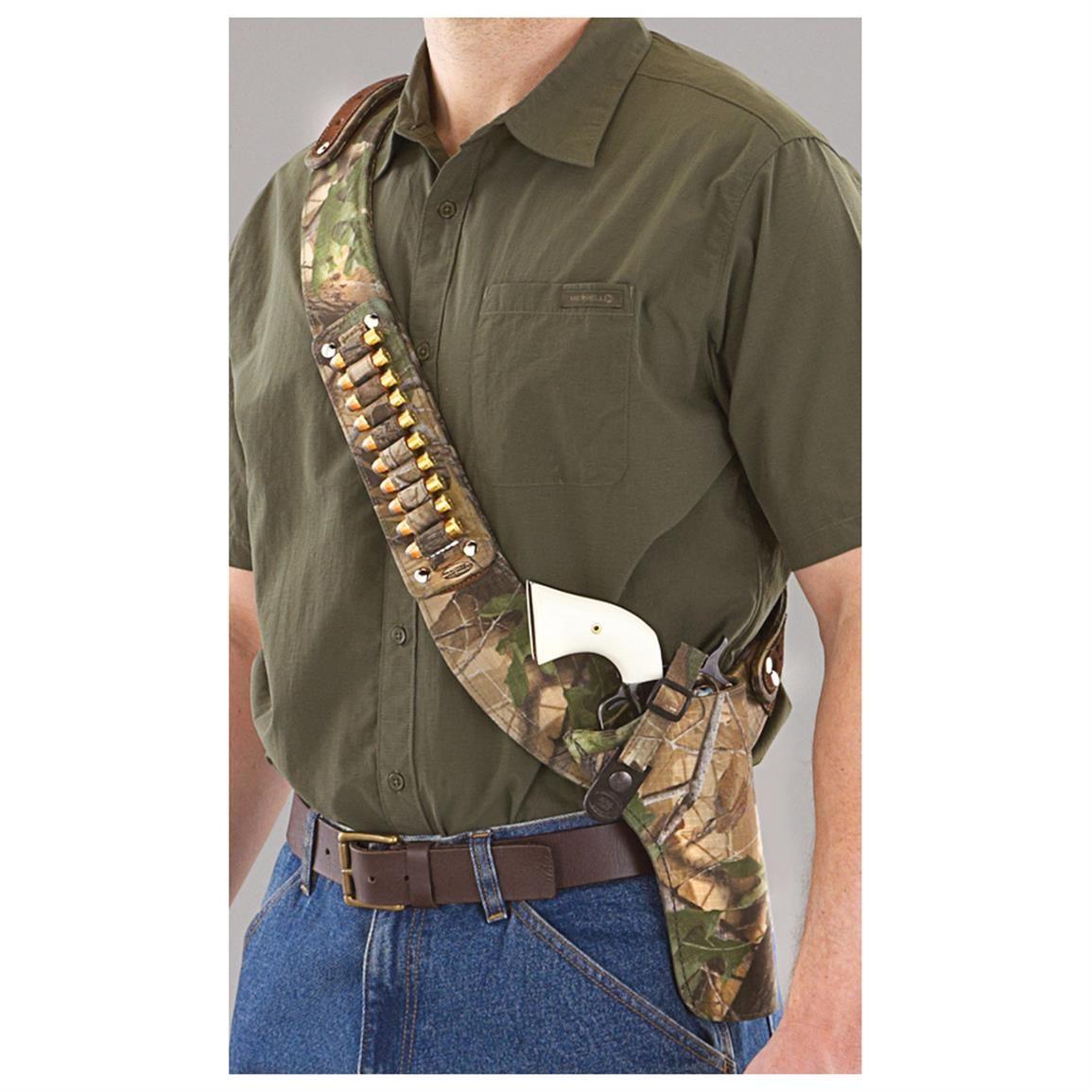 "Right Hand Bandoleer Shoulder CHEST Holster RUGER SECURITY SIX w 4/"" barrel USA"