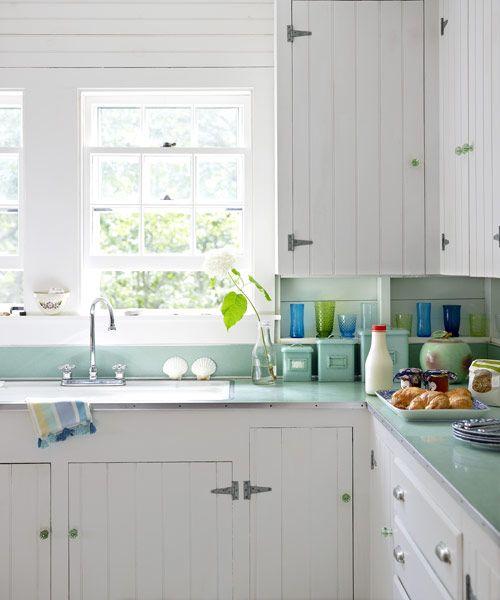 Adding Beadboard To Kitchen Cabinets: Tony Shalhoub's Martha's Vineyard Cottage
