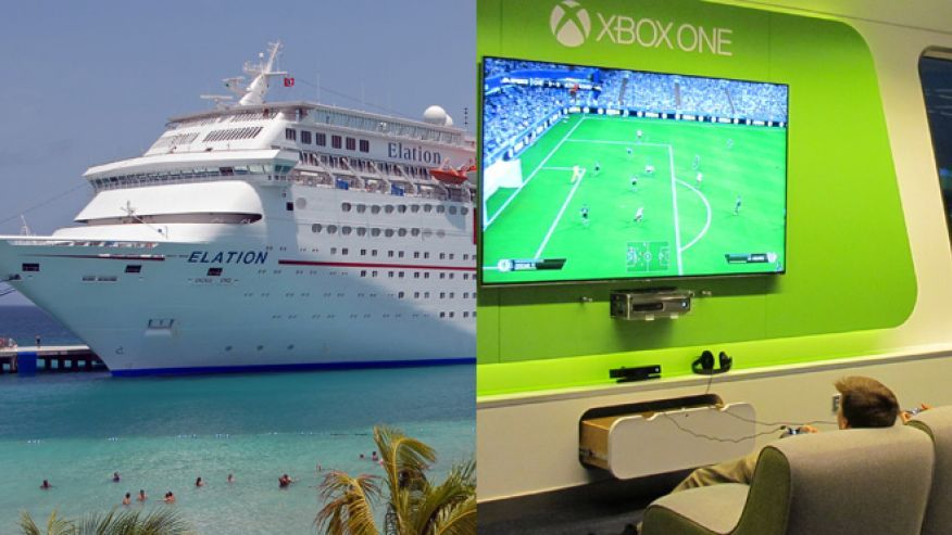 Cruise Lines Ramp Up WiFi To Lure New Passengers Cruises Royal - Example of cruise ship