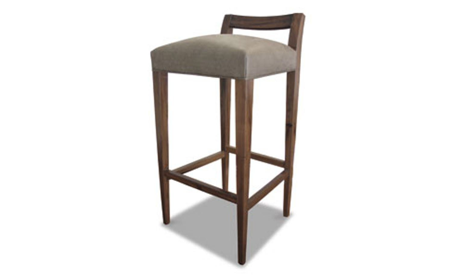 Cool Umberto Stool Contemporary Transitional Leather Gmtry Best Dining Table And Chair Ideas Images Gmtryco