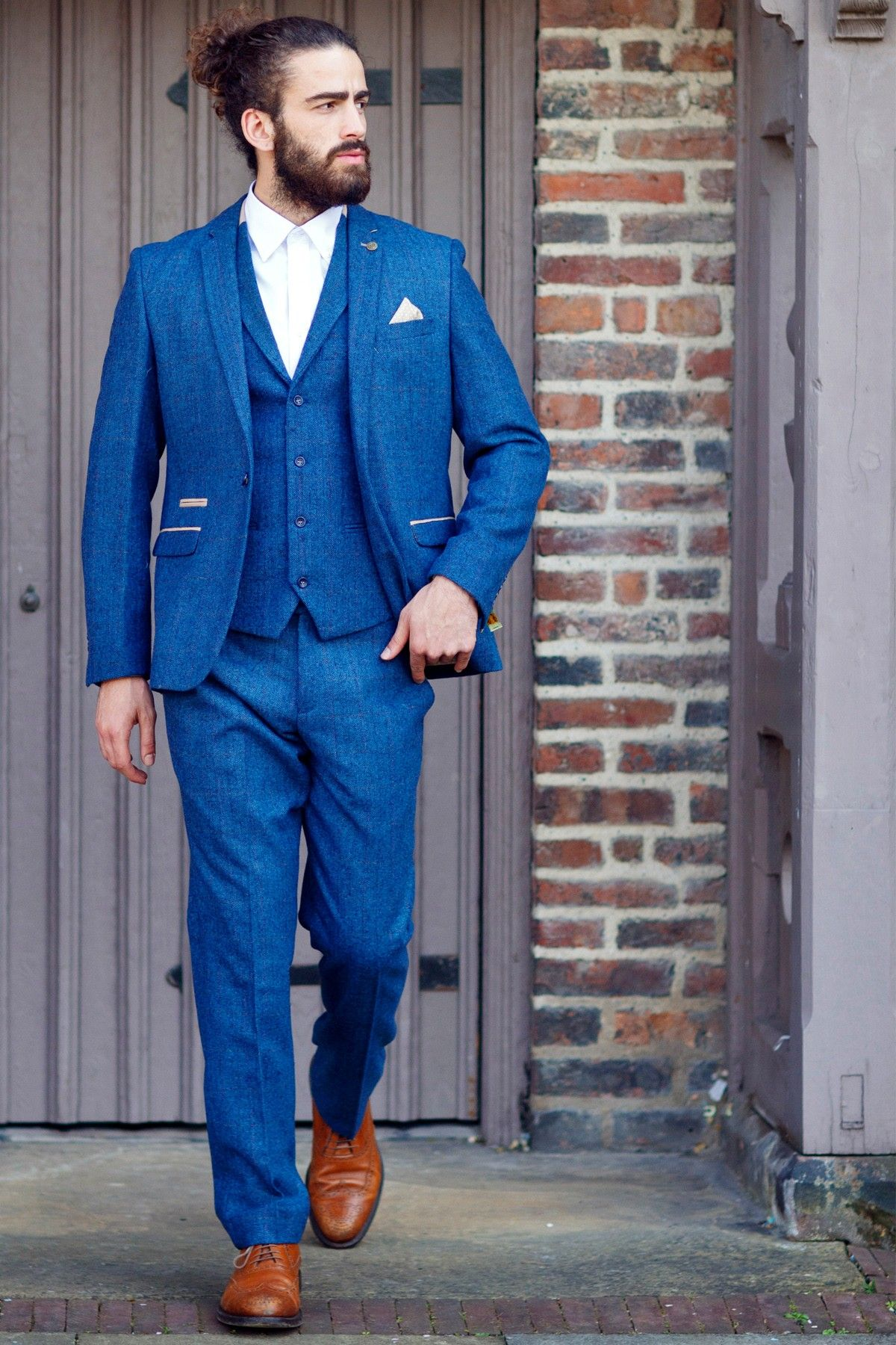 offer official find workmanship Marc Darcy Suit | Tweed | Herringbone | Check | Three Piece ...