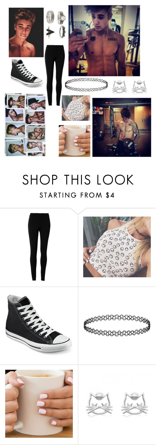 """""""Justin Bieber"""" by beau-4-ever ❤ liked on Polyvore featuring Justin Bieber, Max Studio and Converse"""