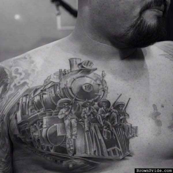 Mexican revolution tattoo by jose lopez tattoo for American revolutionary war tattoos