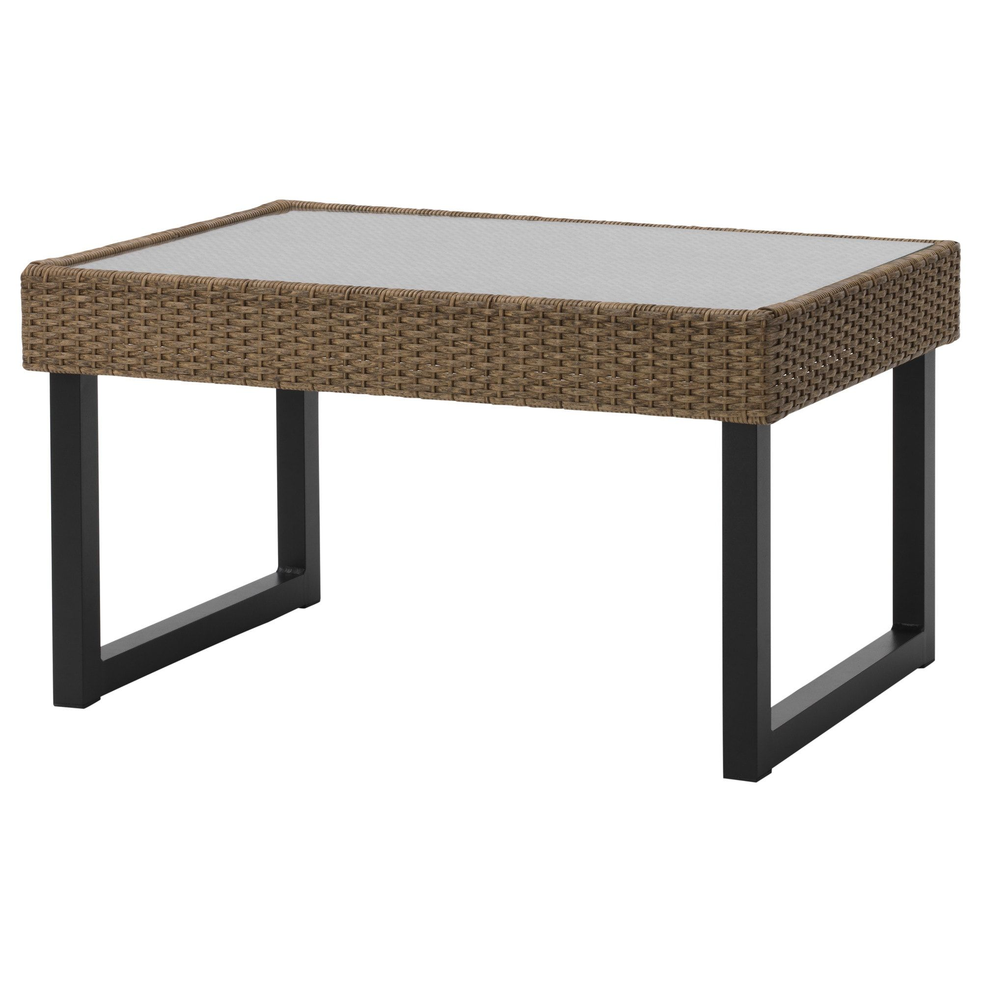 Ikea Solleron Anthracite Brown Coffee Table Outdoor Home