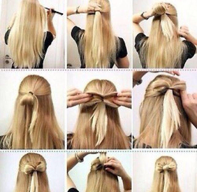 Bow hair idea
