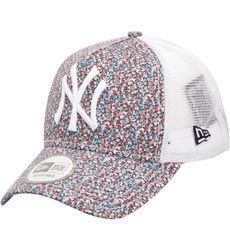 9026b6da13d8f6 X LIBERTY Casquette Trucker 9Forty NY Yankees MULTICOLORENew Era ...