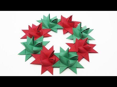 Origami Christmas Tree Pine Tree  rvore de Natal  YouTube