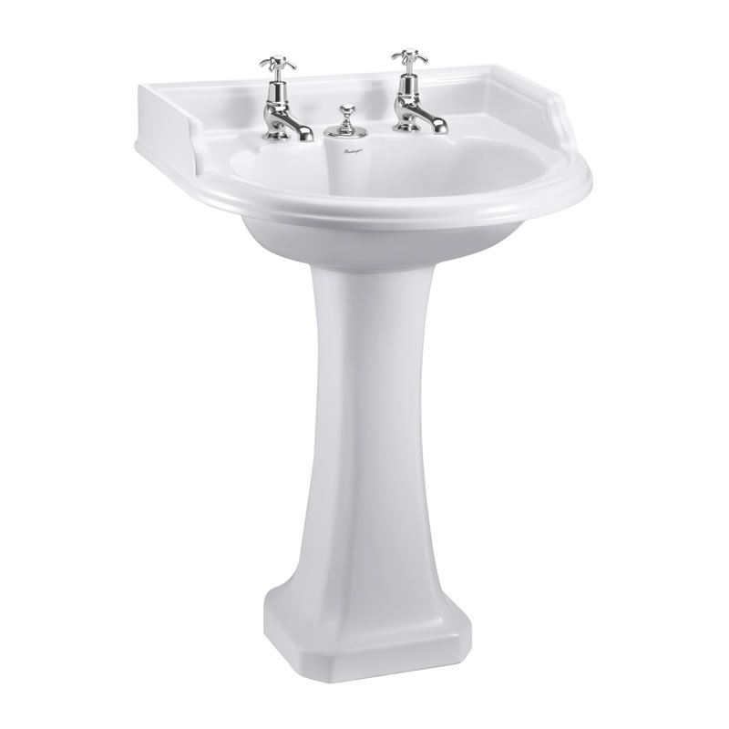 Classic round 65cm basin with invisible overflow and