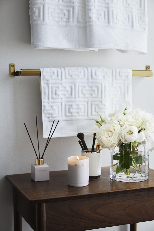 Home interior design accessories hum home släpper avskalade classic collection  bathroom accessories