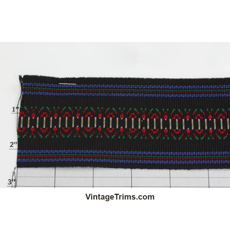 """Tapestry Jacquard 2-1/2"""" (Per Yard) 4 Colors"""