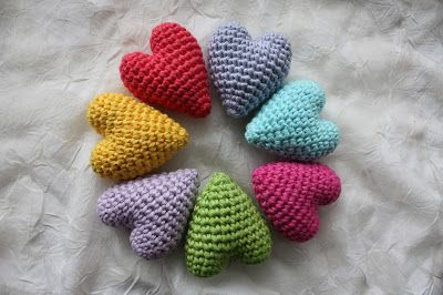 Amigurumi Love Heart Patterns : Amigurumi creations by laura: preparations for valentine´s day