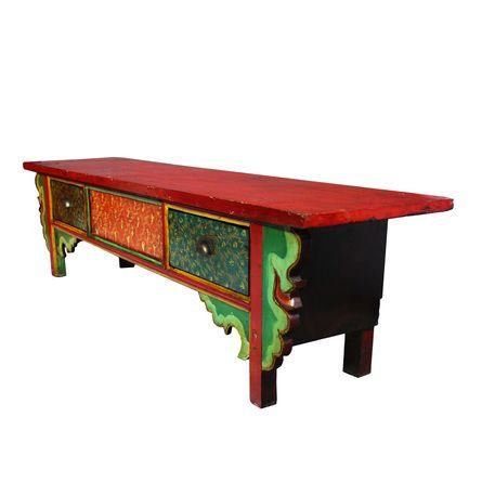 www.homelove.cz  / 60 let stará lavice z provincie Shan Dong
