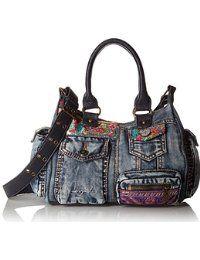 Ethnic DeluxeAvec Un En Mini Jean Sac London Bag Desigual dQECrBWxoe