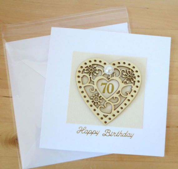 80th Wedding Anniversary Gift: 70th Birthday Card Gift For Woman Mum Mom, Personalised