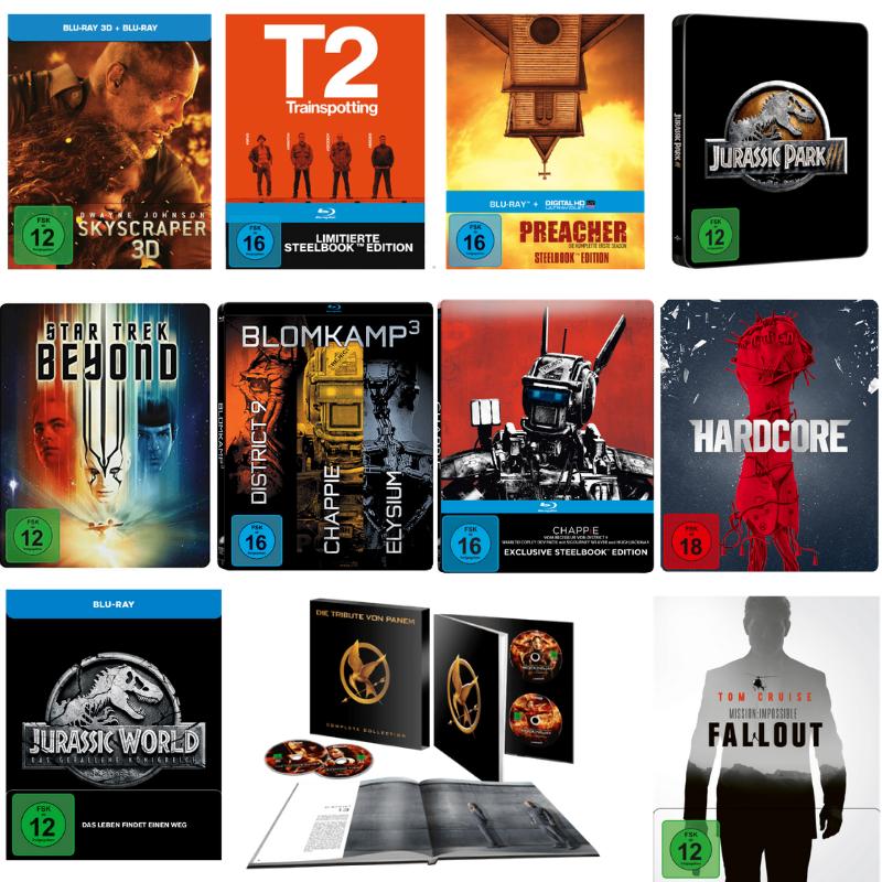 Angebot 3 Fur 2 Aktion Auf Diverse Sondereditionen Blu Ray Und Dvd Auswahl Aus Uber 150 Titeln Blu Ray Dvd Nintendo Switch