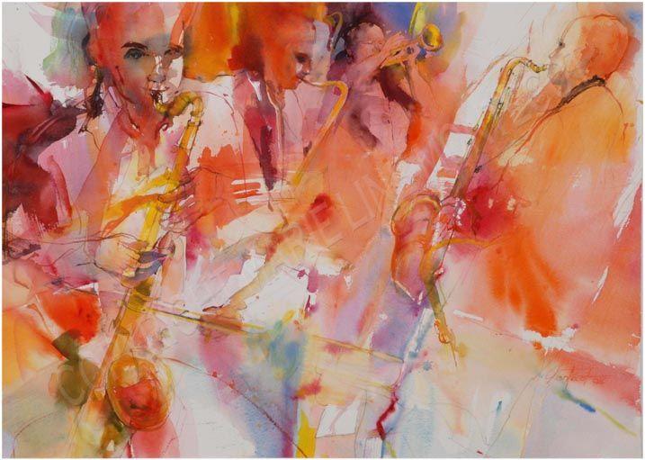 Aquarelle Reims Evenement Galeries Des Artistes Marie Line