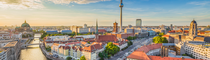 The city of Berlin, Germany is built around the River
