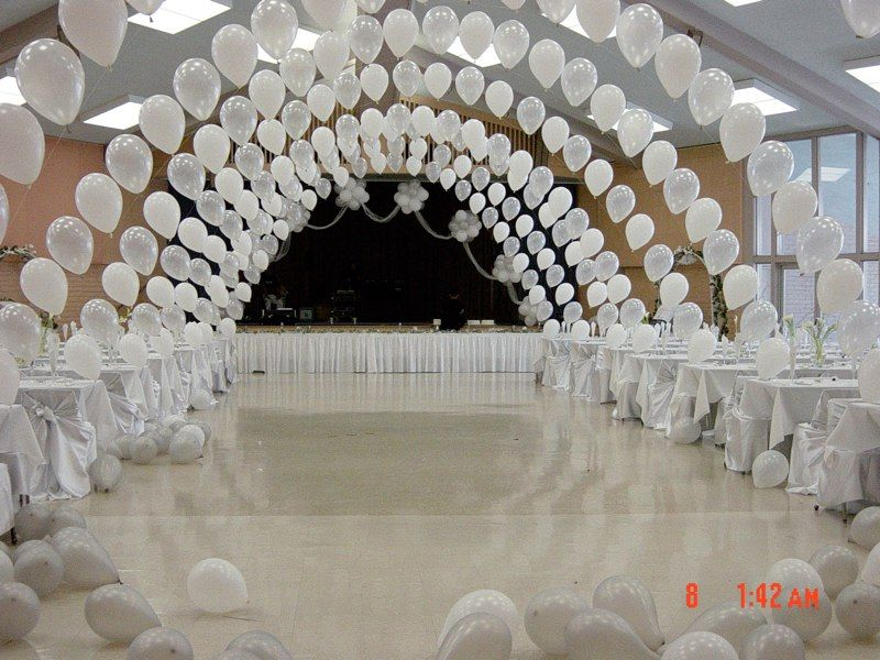 Balloons wedding arch reception | It\'s Party Time! and gift ideas ...