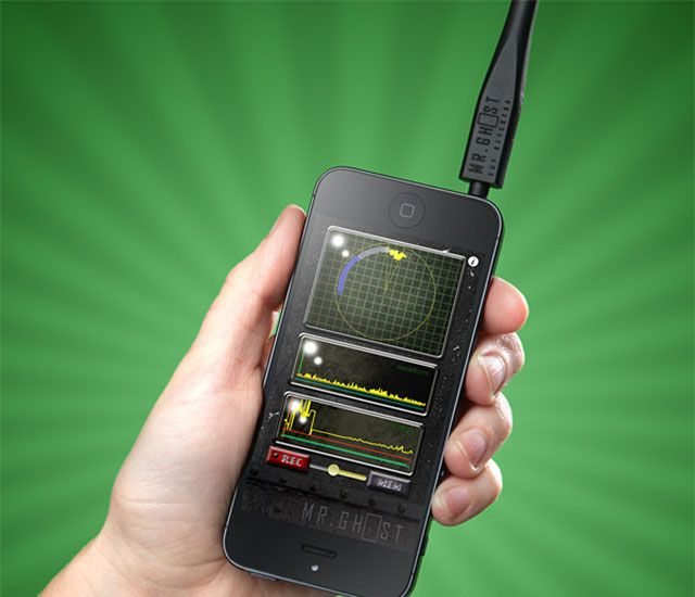 Iphone Ghost Detector Ipad Accessories Smartphone Accessories Iphone