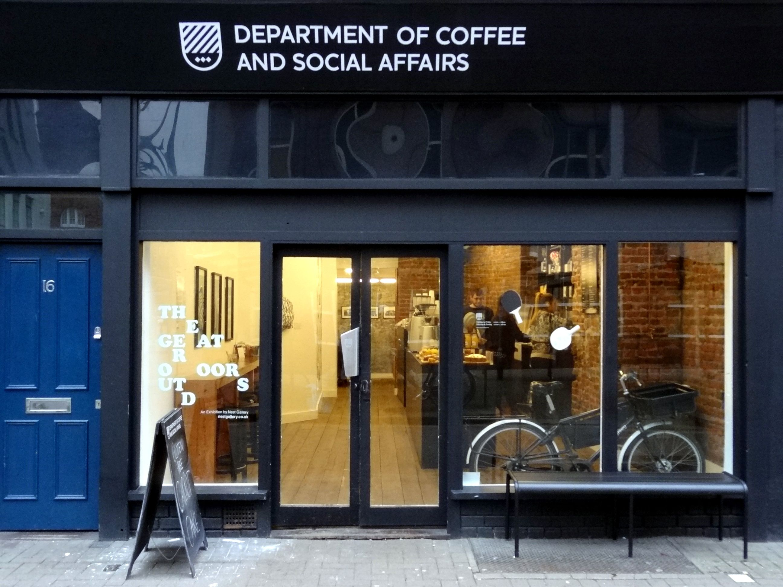 Department of coffee and social affairs
