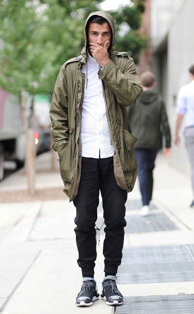 Men's Street Style - Dashing With Basics