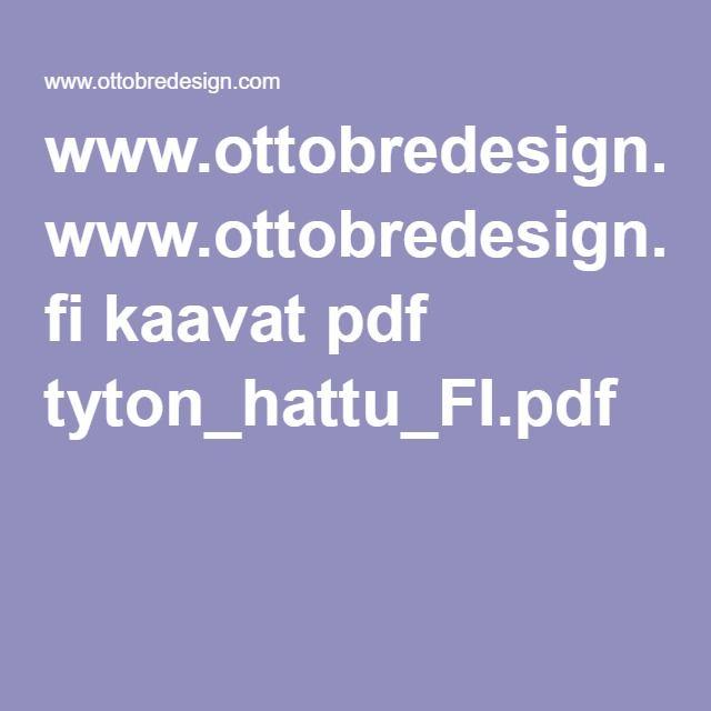 www.ottobredesign.com fi kaavat pdf tyton_hattu_FI.pdf