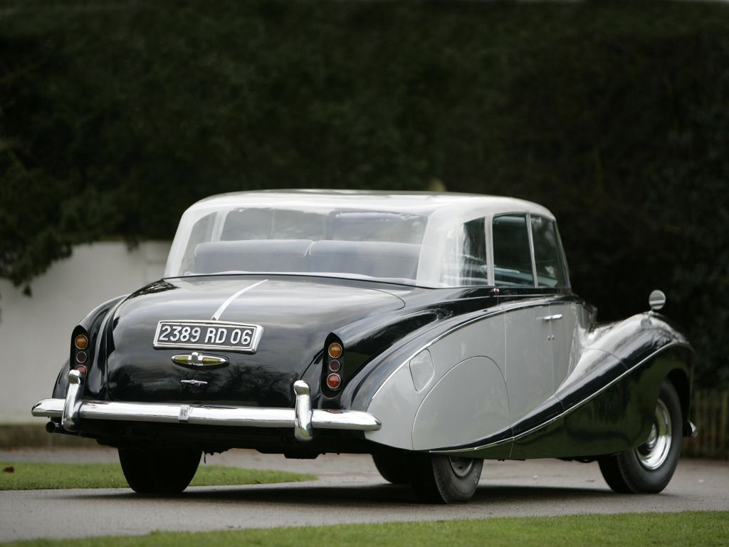 1950 Rolls Royce Silver Wraith James Young Body Wheels