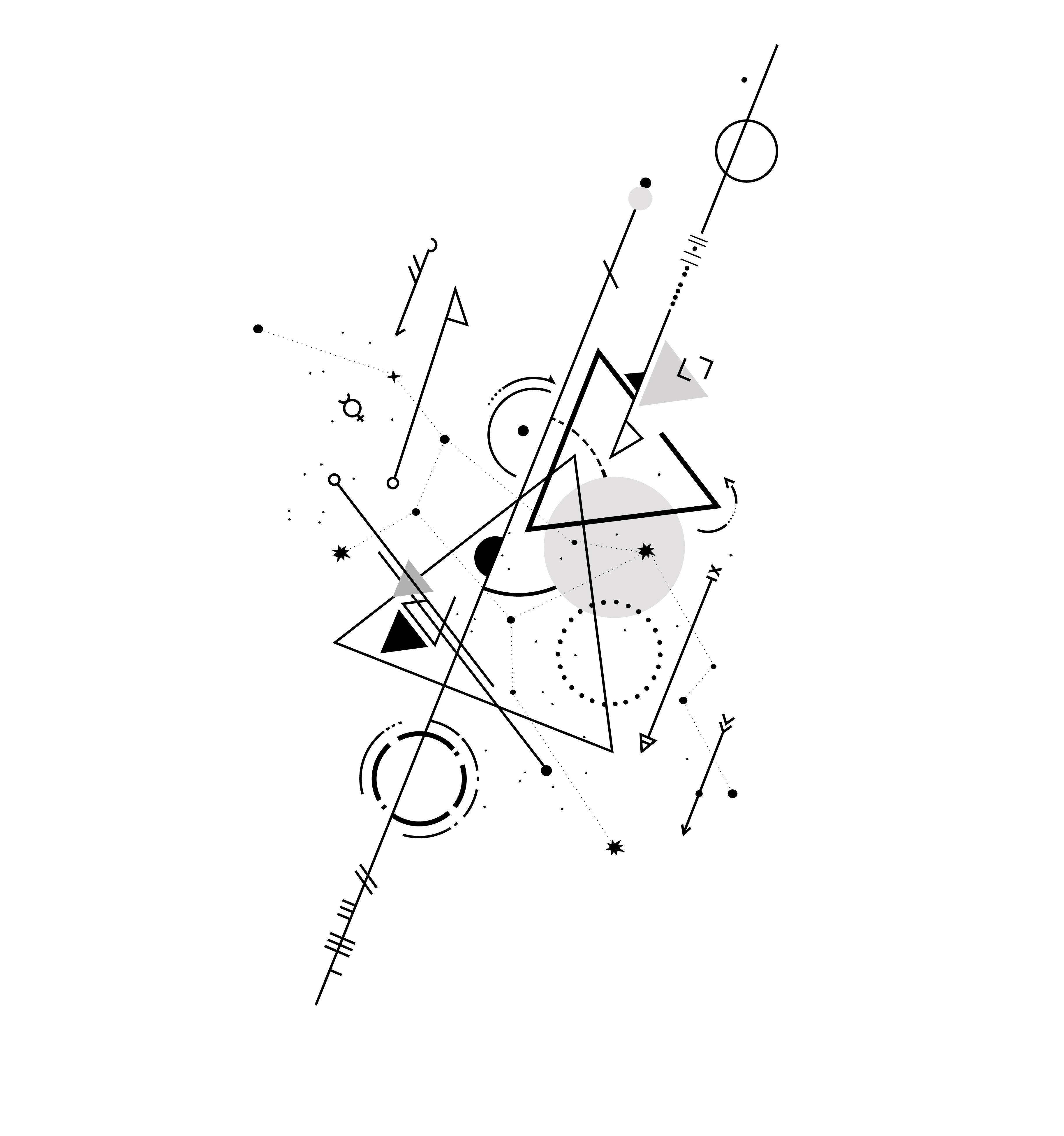 d69e118ec Geometric Virgo tattoo | Tattoos | Tattoos, Symbolic tattoos ...