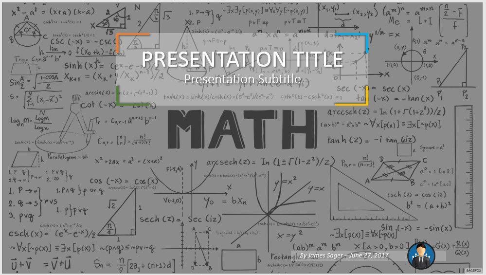 Free Math PowerPoint by SageFox Math PowerPoint #53266 15887 Free