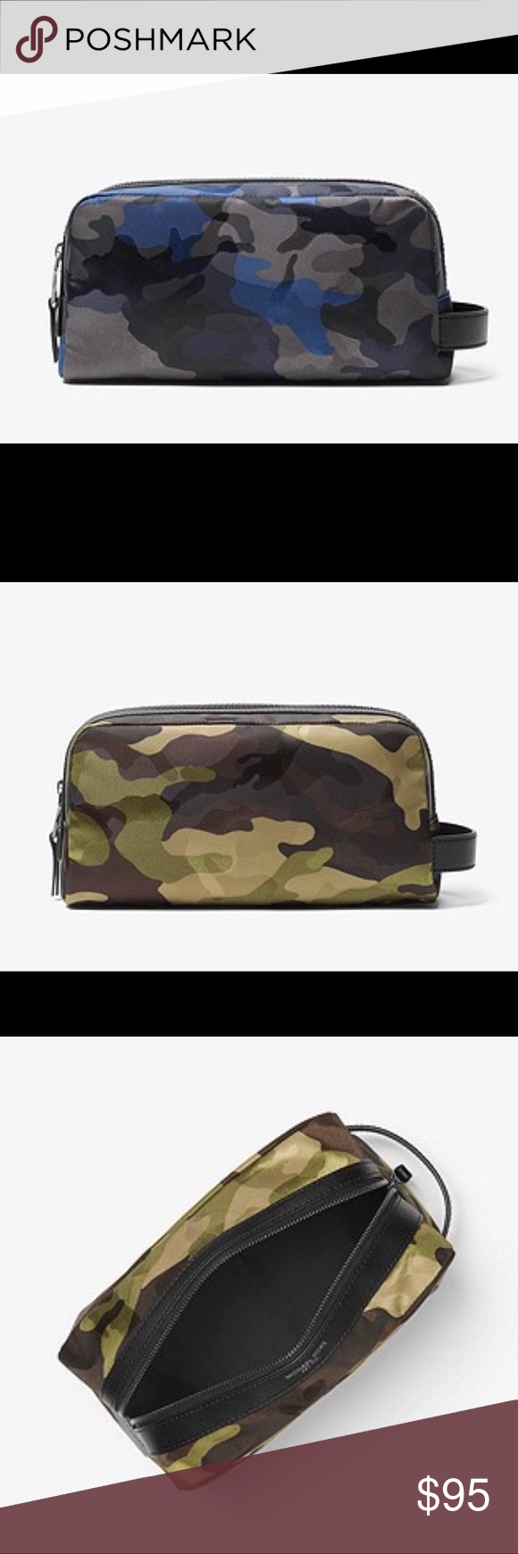 4e68d1f2c61d0 Michael Kors Men s Kent Camo Nylon Travel Bag Michael Kors Men s Kent  Camouflage Nylon Travel Bag Michael Kors Bags Luggage   Travel Bags
