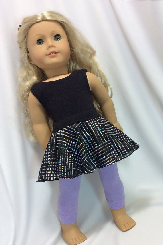 Sequins Leotard Fits 18 inch American Girl Dolls