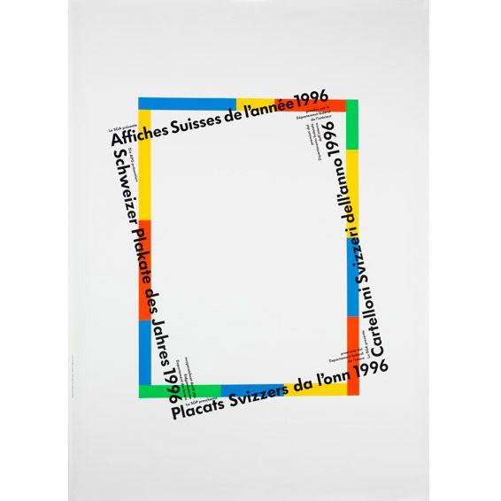 Plakat, APG, 1996 Rosmarie Tissi