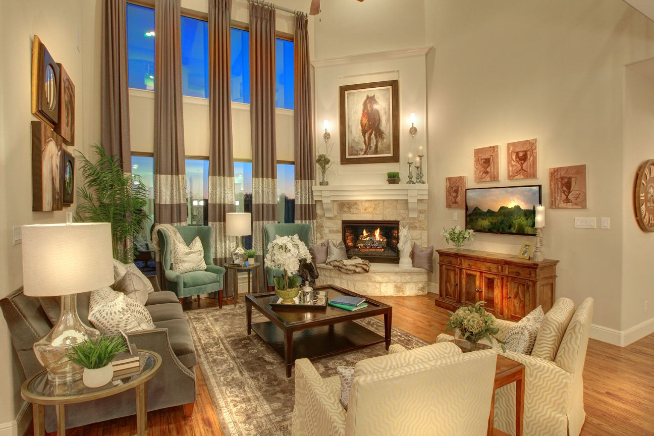 Lakeside DFW model home in Flower Mound, Texas main