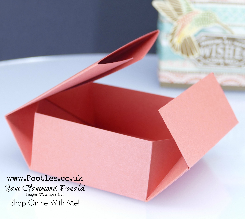 Mosaic Mood No Glue Tuck N Fold Box Tutorial Paper Box Diy Paper Gift Box Paper Box Template