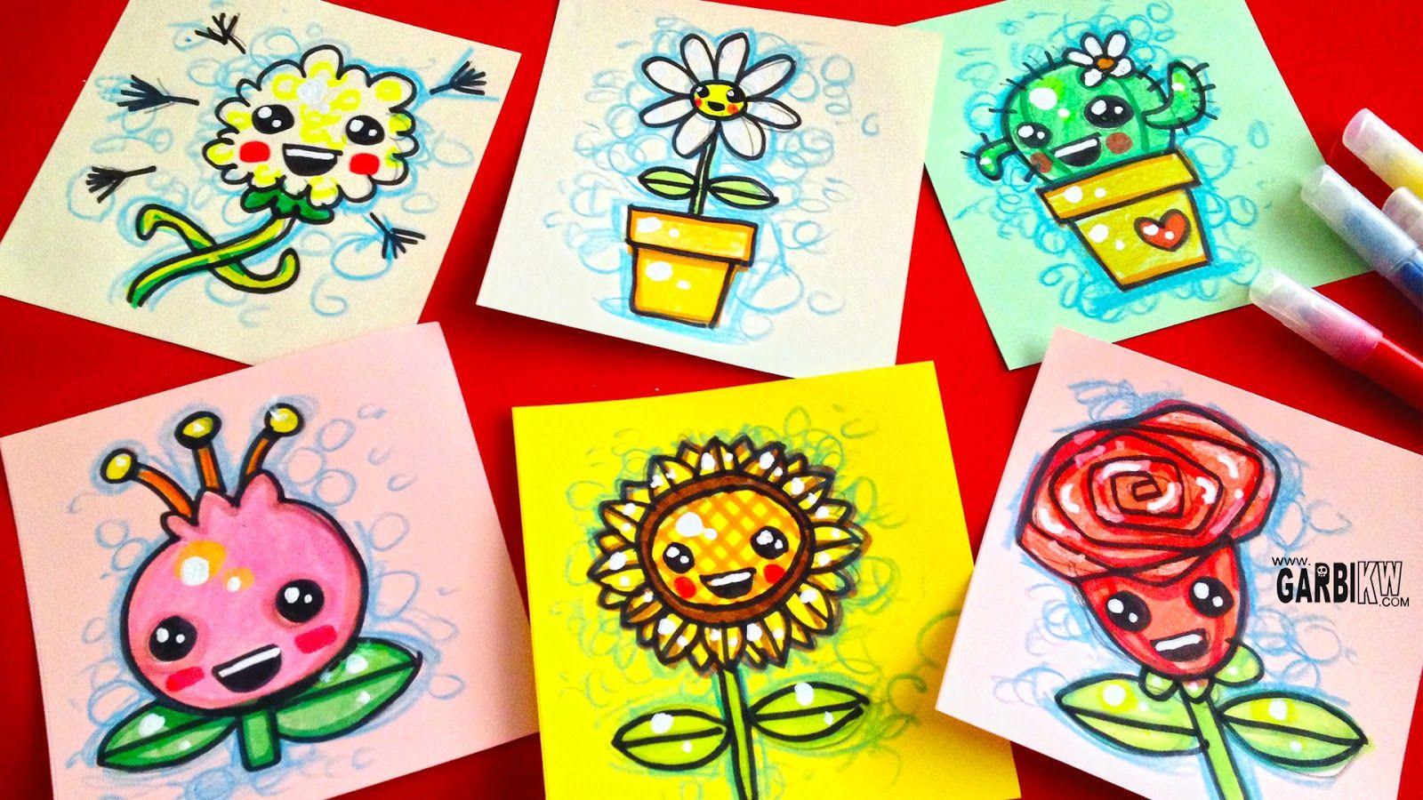 Kawaii Pasos Para Dibujar Una Flor Www Imagenesmy Com