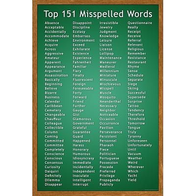 commonly misspelled words list pdf